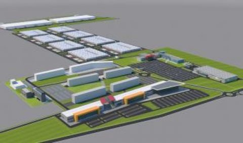 Global Vision has started the construction works at Constanța Business Park First phase – 20,400 sq.m of industrial hall