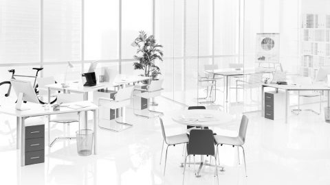 The workplace after COVID-19. How the traditional office space will adapt to new realities.