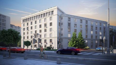 Global Vision was assigned to manage the newest office building developed by Hagag Group – H Victoriei 109