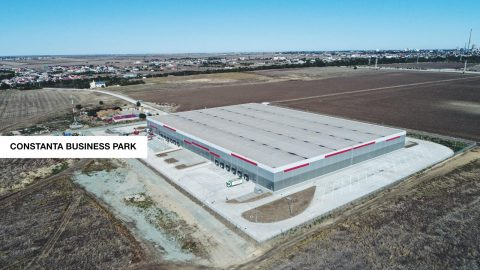 Global Vision and Globalworth lease to PepsiCo a storage unit inside the business park developed at Constanța